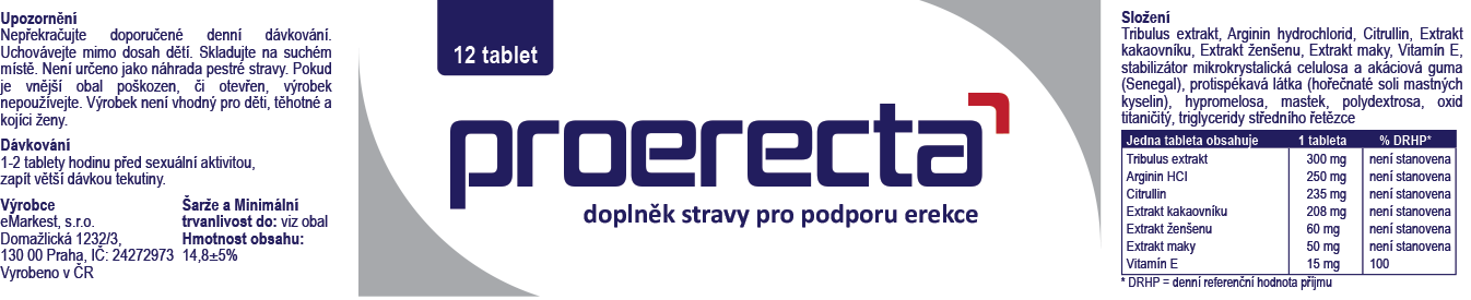 Etiketa Proerecta